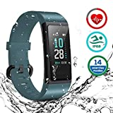HOMVILLA Sports Smart Band, Activity Tracker, Smartwatch Impermeabile IP68 Polsino Bluetooth con...