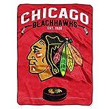 NHL Chicago Blackhawks 'Inspired' Raschel Throw Blanket, 60' x 80'