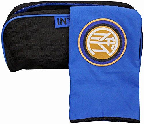 Gratis Kulturbeutel & Sport-Handtuch aus Mikrofaser, offiziell von Inter Mailand, 50...