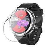 Vaxson - Confezione da 3 pellicole protettive in vetro temperato per smartwatch LEMFO LEM8 Pro/LEM 8 Pro, pellicola protettiva 9H, per smartwatch