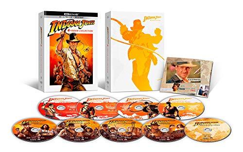 インディ・ジョーンズ 4ムービーコレクション 40th アニバーサリー・エディション 4K Ultra HD + ブルーレイ[4K ULTRA HD + Blu-ray]