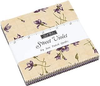 MODA Sweet Violet Charm Pack by Jan Patek; 42-5