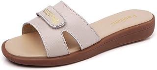 Nwarmsouth Slippers sandalen, draag platte slippers en bijpassende strandschoenen, massagepantoffels, badschoenen, saunasc...