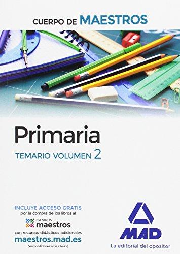 Cuerpo de Maestros Primaria. Temario Volumen 2 - 9788414201800