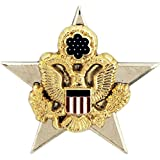 United States Army General Staff Officer Branch of Service Insignia 1' Lapel Pin