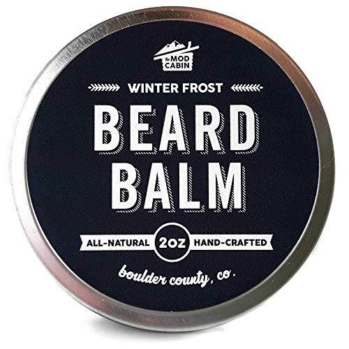 Winter Frost Beard Balm - All Natural, Hand Crafted in USA