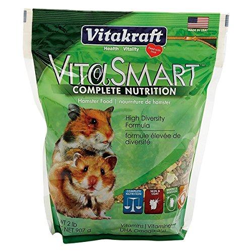 Vitakraft VitaSmart Hamster Food - High Diversity Formula, 2 lb
