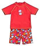 Landora®: Baby- / Kleinkinder-Badebekleidung 2er Set mit UV-Schutz 50+ und Oeko-Tex 100...