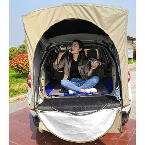 XTBB Dachzelt für Auto, Zelt für den Außenbereich, Camping, Schwanz und Picknick, für Peugeot 3008 nur für SUV Khaki