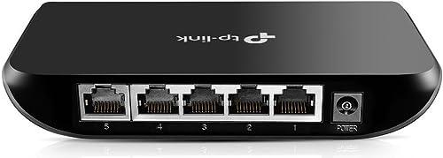 TP-Link 5-Port Gigabit Ethernet Plastic Desktop Switch (TL-SG1005D)