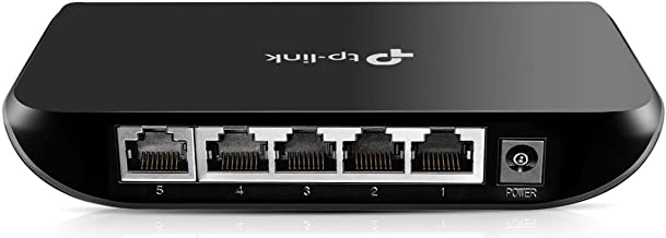 TP-Link 5 Port Gigabit Ethernet Network Switch | Ethernet Splitter | Plug-and-Play |..