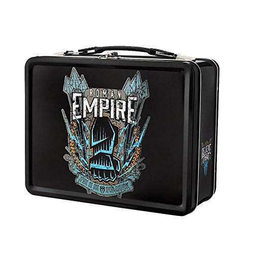 Roman Reigns Spare No One Spear Everyone WWE Black Lunch Box