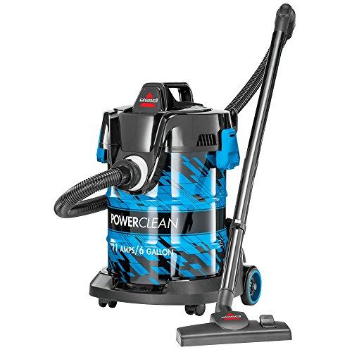 Bissell, Blue Powerclean 2035A Power Clean Wet/Dry Garage Vacuum Cleaner