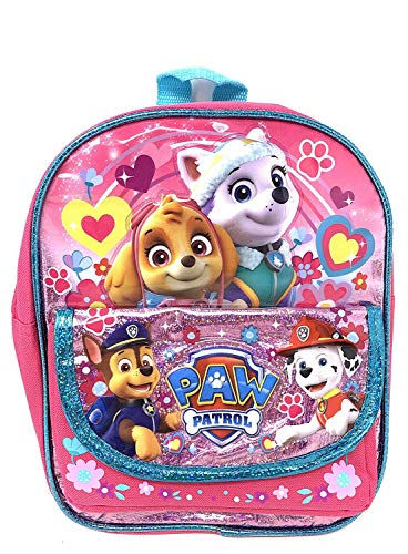 New Arrive Paw Patrol Girls Pup 10 inch X-Small Backpack (2-4 YRS)