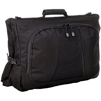 5010-O-BLK Black, 45x23x3.5-Inch Sandpiper of California Deluxe Garment Bag