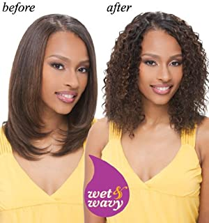 INDIAN REMY WATER DEEP WET & WAVY HUMAN HAIR WEAVE 12