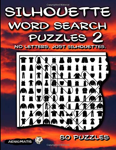 Silhouette Word Search Puzzles 2: No Letters, Just Silhouettes.