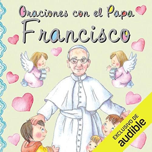 Diseño de la portada del título Oraciones con el Papa Francisco