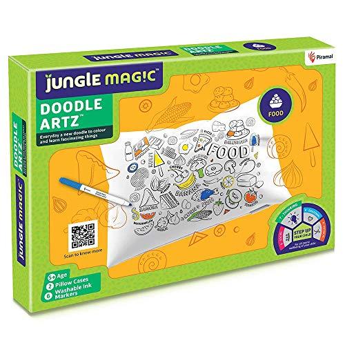 Jungle Magic Doodle Artz Food