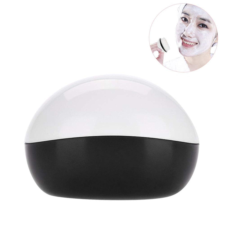 フェイスクリーニングブラシ、ポータブル洗顔用ブラシ 取り外し可能化粧ブラシ フェイスケアツール(1)