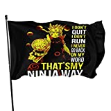 Bosb-00 Naruto Apparel -Thats My Ninja Way Naruto Banner 3x5 Feet Personalized Garden Logo Stylish Garden Decoration