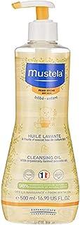 Mustela Rengöringsolja för torr hud 500 ml