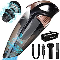 in budget affordable Banaton Car Vacuum Cleaner 5000PA106W 12V Car Vacuum Cleaner with LED Light Low Noise Level for Wet and Dry Cleaning…
