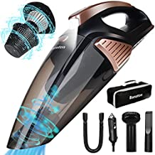Banaton Car Vacuum Cleaner 7000PA 106W 12V Car Vacuum with LED Light Low Noise Wet and Dry Use Auto Vacuum Cleaner with 16.4FT(5M) Cord and Carrying Bag for All Vehicles