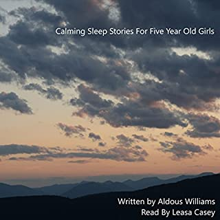 Calming Sleep Stories for Five Year Old Girls audiobook cover art