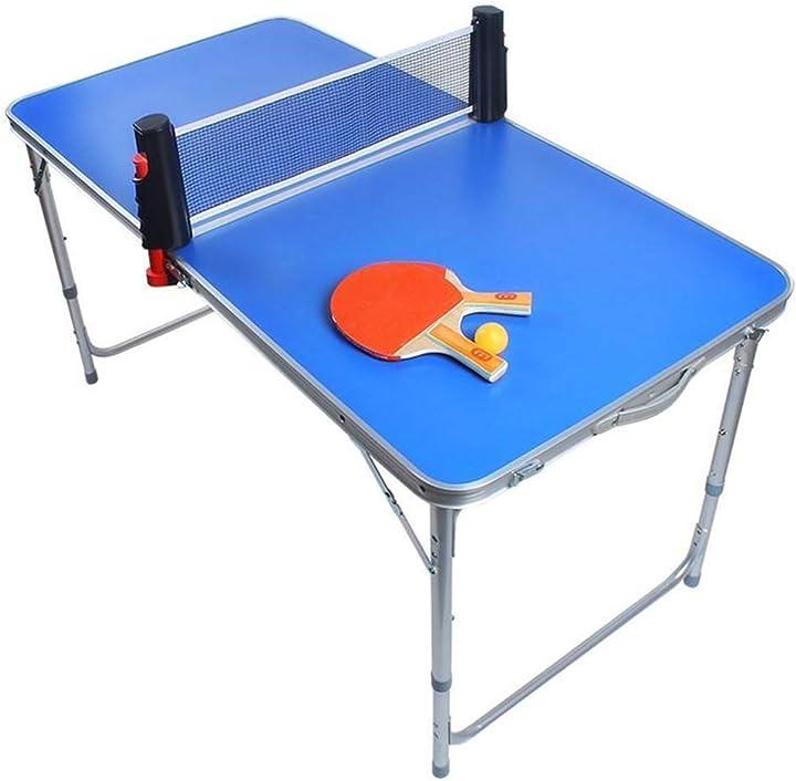 Tavolo da ping pong pieghevole yljyj mini B0912VL86K