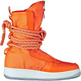"Nike SF Air Force One AF1 Special Shield Hi Boot ""Total Orange"", Schuhe Herren"