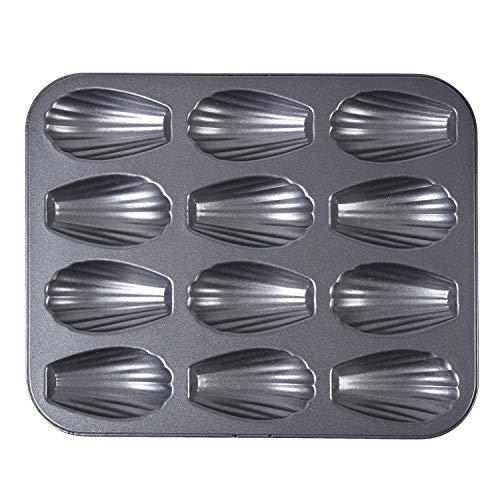シリコン加工天板 (貝型マドレーヌ型12ヶ付)