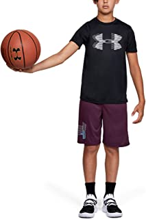 Under Armour Boy's Tech Big Logo Solid Tee-BLK T-Shirt
