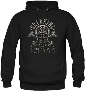 Men's Breaking Benjamin Skull Cotton Fashion Hoodied Sweatshirt