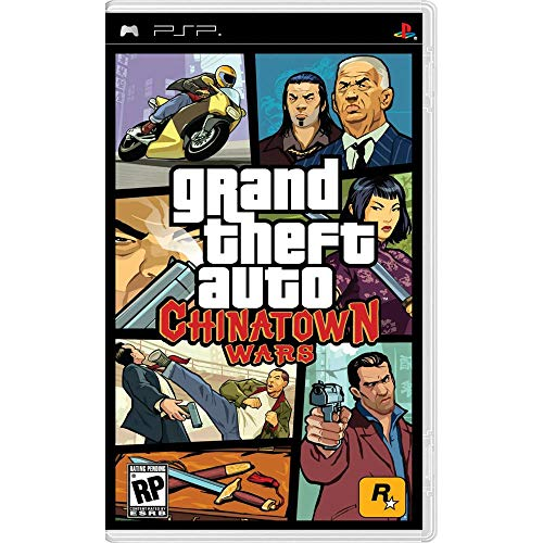 Grand Theft Auto: Chinatown Wars / Game - PlayStation Portable