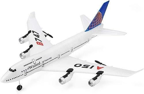 Ahorre hasta un 70% de descuento. Jerome10Dan-TOYS B747 2.4G 3CH Aviones Aviones Aviones de control remoto Aviones de ala fija Aviones al aire libre Juguetes para Niños y adultos  100% garantía genuina de contador