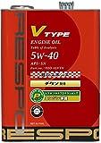 RESPO エンジンオイル Vタイプ 5W40 SN 4L REO-4LVTN