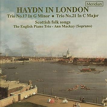 Haydn in London: Piano Trios & Scottish Folk Songs