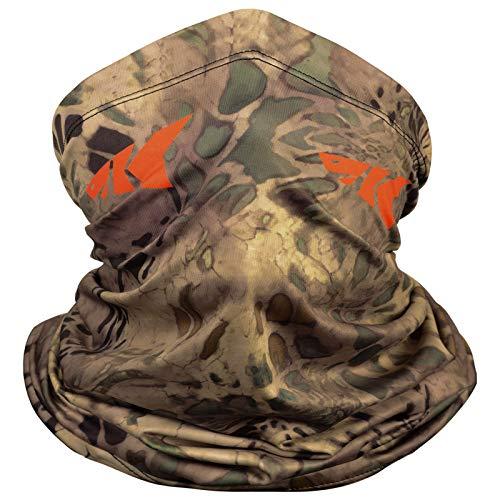 KastKing Sol Armis Neck Gaiter - UPF 50 Face Mask - UV Sun Protection Gaiter Sun Mask for Men & Women, Fishing, Hiking, Kayaking Mask, Prym1 Camo, Multi-Purpose,19x9.5 Inches