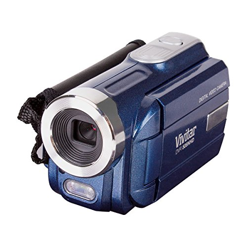 Vivitar DVR508NHD-BLU DVR-508 4X Digital Zoom Video Recorder, Colors May Vary
