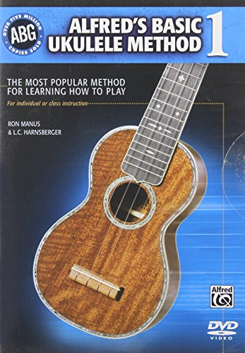 Alfred's Basic Ukulele Method: The Most Popular Method for Learning How to Play, DVD