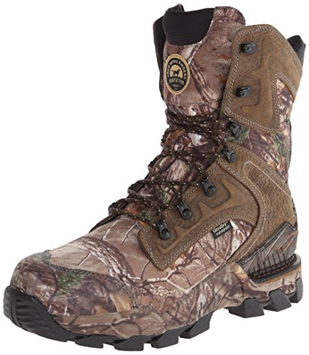 Irish Setter Men's 4837 Deer Tracker 10' Hunting Boot,Realtree Xtra Camouflage,8.5 D US
