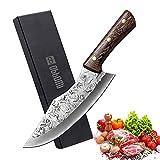Cuchillo de cocina de acero inoxidable, 11 pulgadas