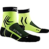 X-Socks Bike Pro Mid Socks, Unisex Adulto, Opal Black/Phyton Yellow, 42-44