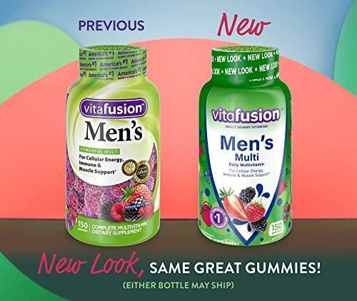 Vitafusion Men's Multi Vitamin Gummies, 150 Count, pack of 1