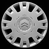 1 tapacubos para rueda de 15 pulgadas para Citroen C4 2004 en adelante, no original, individual 9017