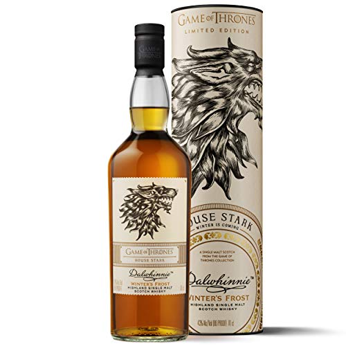 Dalwhinnie Winter\'s Frost Single Malt Scotch Whisky - Haus Stark Game of Thrones Limitierte Edition (1 x 0.7 l)