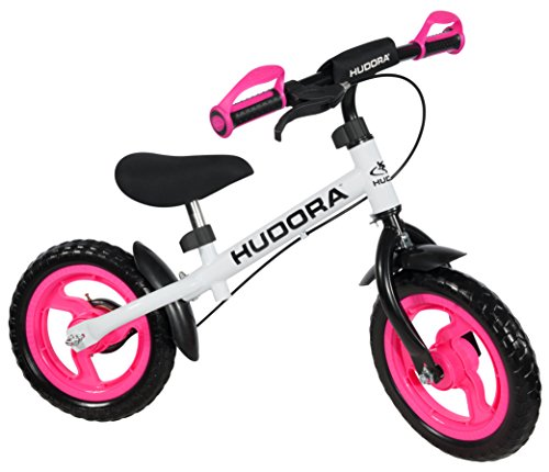 HUDORA Kinder Laufrad Ratzfratz 12 Zoll, pink - 10371