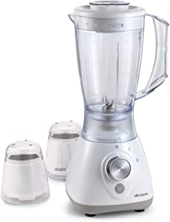 Ariete Blender with 2 Mills 430W, White, 565/2