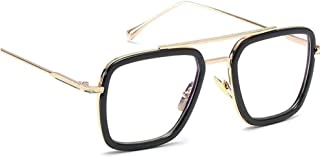 Retro Sunglasses Fashion Unisex, Goggles Vintage Flat Top Thin Shadow Square Pilot Luxury Designer Oversized Sunglasses Women Men Classic Christmas
